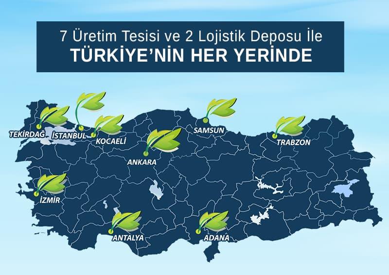 Türkiye'nin Her Yerindeyiz!